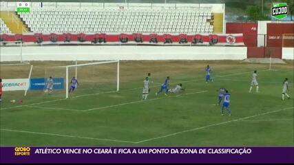 Atlético-PB derrota o Guarany de Sobral e se aproxima do G-4