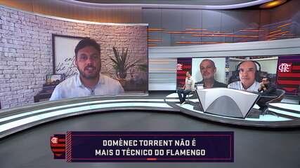 Seleção repercute demissão de Domènec Torrent do Flamengo