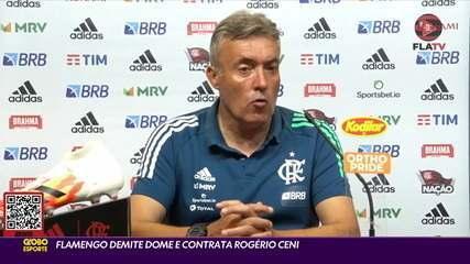 Veja como foi a passagem do espanhol Doménec Torrent no Flamengo