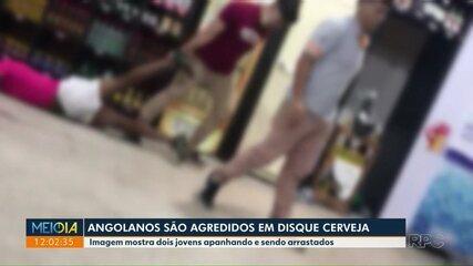 Angolanos são agredidos em disque cerveja de Maringá