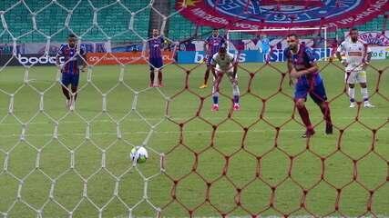 Melhores momentos: Bahia 2 x 1 Fortaleza pela 18ª rodada do Brasileirão 2020