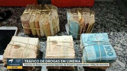 BAEP localiza chácara utilizada como depósito de drogas em Limeira