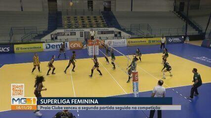 Praia Clube vence Brasília na segunda rodada da Superliga
