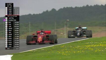 Albon passa Vettel, que quase perde posição também para Hamilton no GP da Turquia