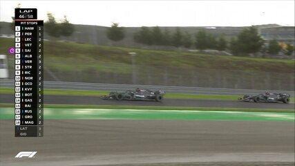 Hamilton coloca uma volta de vantagem sobre Bottas no GP da Turquia