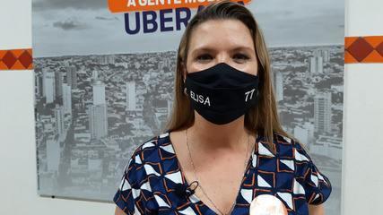 Eleições 2020: Elisa Araújo fala sobre segundo turno em Uberaba