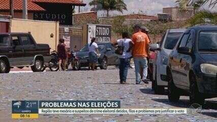 Oito pessoas são detidas por crimes eleitorais na região neste domingo (15)