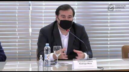 Maia: eleição privilegiou diálogo no lugar da radicalização