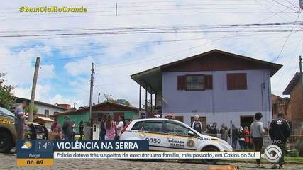 Polícia prende suspeitos de executar família em Caxias do Sul