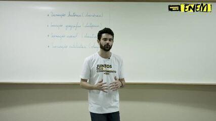 O professor Victor explica sobre Variações Linguísticas