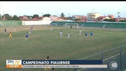 Parnahyba vence e se aproxima dos lideres pelo Campeonato Piauiense