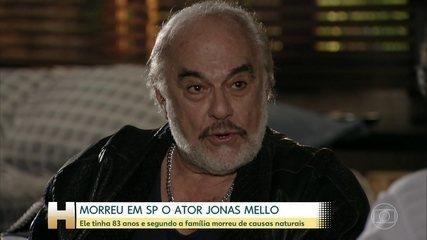 Morreu em São Paulo o ator Jonas Mello