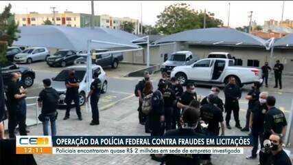 Operação da Polícia Federal investiga fraudes em licitações
