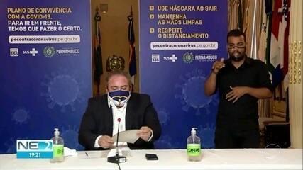 Secretário de Saúde de Pernambuco fala sobre estatísticas da pandemia no estado