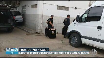 Cinco pessoas são presas suspeitas de fraude que desviou R$ 6 milhões de reais na Bahia