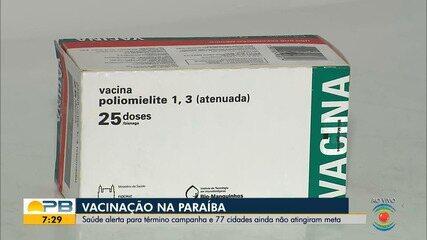 9039043 - Campanha de multivacinação e vacinação contra poliomelite termina nesta sexta-feira, na PB | Paraíba