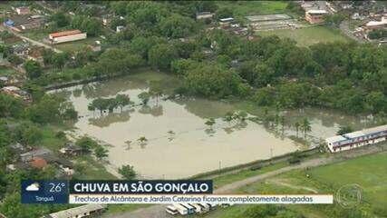 Tempo vai ficar chuvoso no Rio até terça-feira