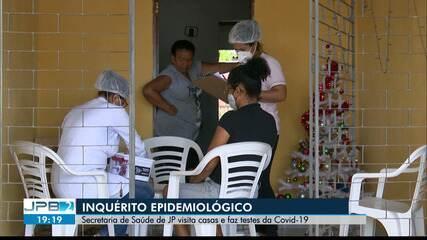 Mais de 500 pessoas são testadas durante Inquérito Epidemiológico, na Capital