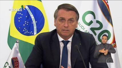 Bolsonaro diz que tensões entre raças no Brasil são importadas e alheias à nossa história
