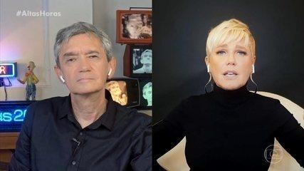 Xuxa fala do relacionamento com Ayrton Senna