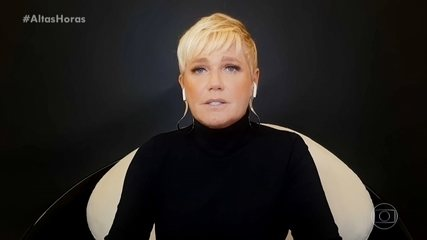 "Xuxa tells what it was like having the experience of writing a book ""Memoirs"""