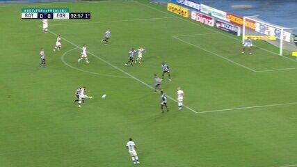 Melhores momentos de Botafogo 1 x 2 Fortaleza pela 22ª rodada do Campeonato Brasileiro