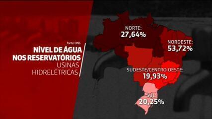 Crise em reservatórios faz Brasil usar energia termelétrica