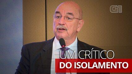 Ex-ministro Osmar Terra é um crítico do isolamento social