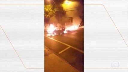 Bandidos atacam agências bancárias e trocam tiros com a polícia em Araraquara, SP