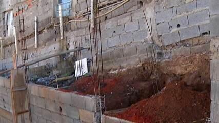 Moradores do bairro Recreio Sertãozinho, em Suzano, reclamam de qualidade de asfalto