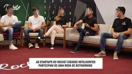 Startups do Rocket Cidades Inteligentes participam de networking