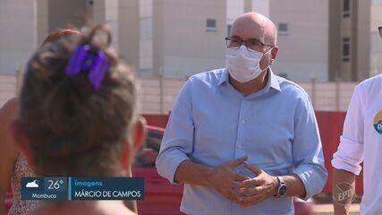 Candidatos à Prefeitura de Campinas encontram apoiadores e discutem melhorias nesta quarta