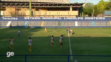Os gols de Timon-PI 3 x 2 Parnahyba pela 12ª rodada do Campeonato Piauiense