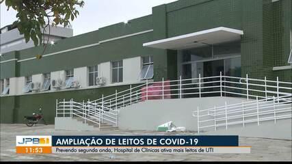 Hospital das Clínicas de Campina Grande amplia leitos para pacientes com Covid-19
