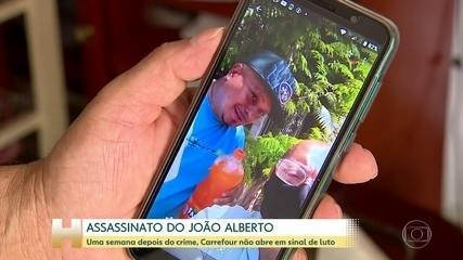 Caso João Alberto: uma semana depois do crime, Carrefour não abre em sinal de luto