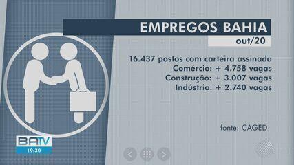 Bahia lidera entre os estados no nordeste em criação de novos postos de trabalho