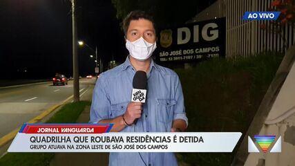 Quadrilha que roubava casas na zona leste de São José dos Campos é presa