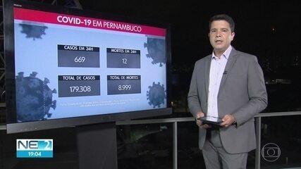 PE confirma mais 669 casos de infecção pelo coronavírus e novas 12 mortes por Covid-19