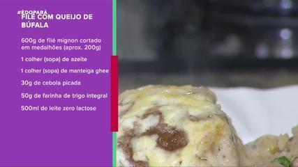 Aprenda a fazer filé com queijo do Marajó