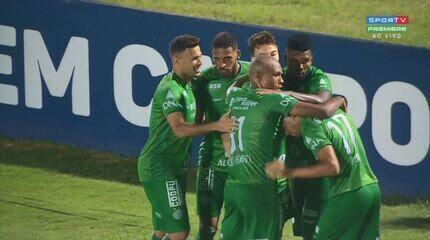 Os gols de Guarani 2 x 0 Chapecoense, pela 24ª rodada da Série B