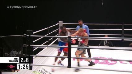 Jake Paul x Nate Robinson pelo peso-cruzador do boxe internacional