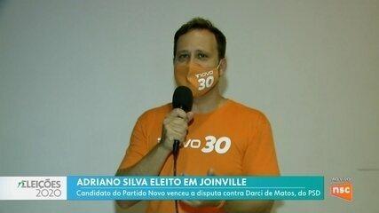 Confira entrevistas com Adriano Silva e Mário Hildebrandt, eleitos em Joinville e Blumenau