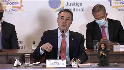Ministro Barroso analisa as eleições 2020: 'Sistema eleitoral brasileiro é imune à fraude'