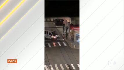 Bandidos atacam agência bancária e fazem reféns em Criciúma, SC