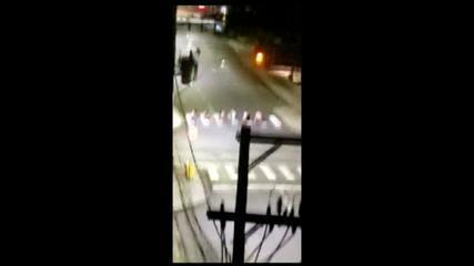 CRICIÚMA VÍDEO: imagens mostram criminosos fazendo reféns durante assalto