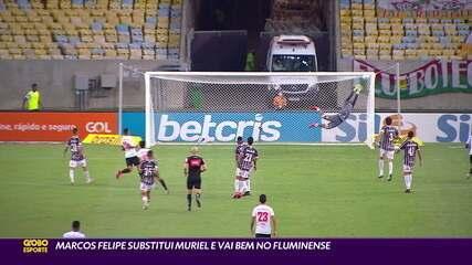 Marcos Felipe substitui Muriel e vai bem no Fluminense