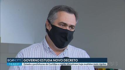 Governo estuda novo decreto com medidas mais rígidas para o Paraná