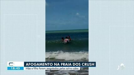 Duas mulheres se afogam na Praia de Iracema, em Fortaleza