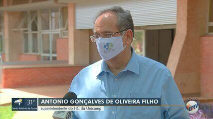 HC da Unicamp suspende internações e cirurgias eletivas com alta nos casos de Covid-19