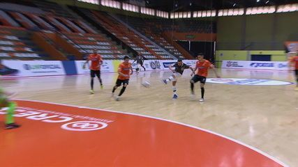 Os gols de Carlos Barbosa 2 x 3 Corinthians pela Liga Nacional de Futsal